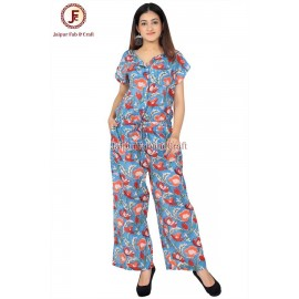 Women comfort redy to wear jumpsuit