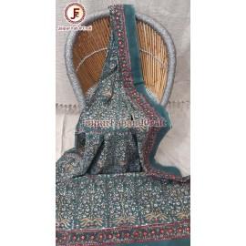 Cotton Hand block print bedsheet
