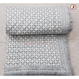 Cotton Hand block print quilts